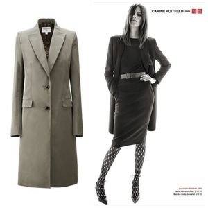 Carine Roitfeld x Uniqlo Chester Coat (like new!)